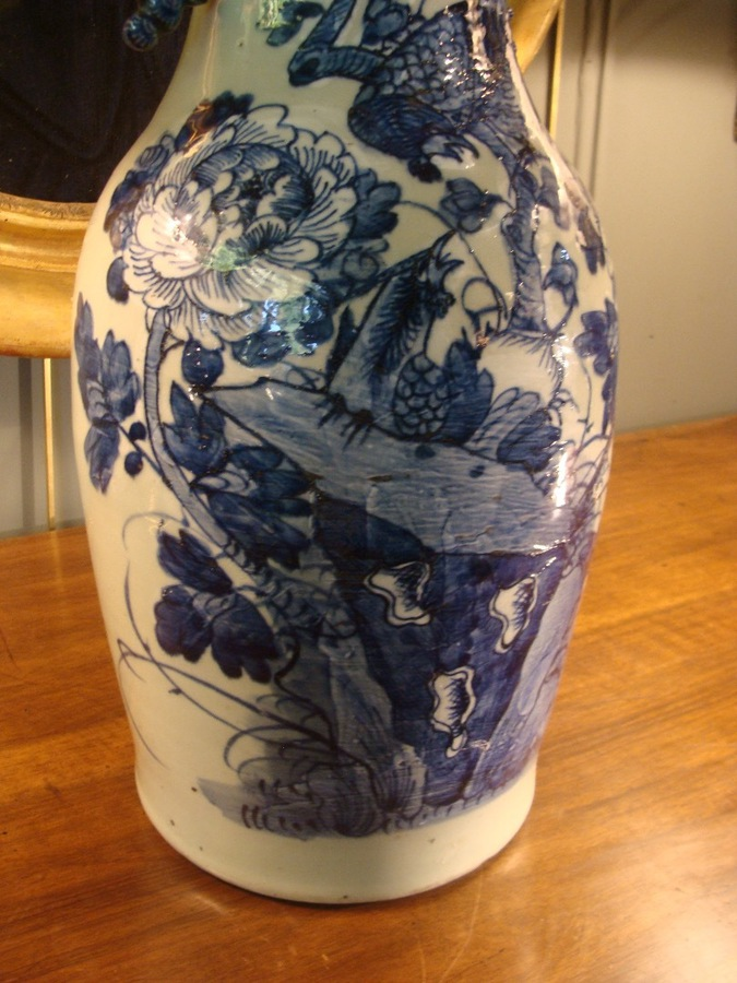 Antique Chinese Porcelain Vase