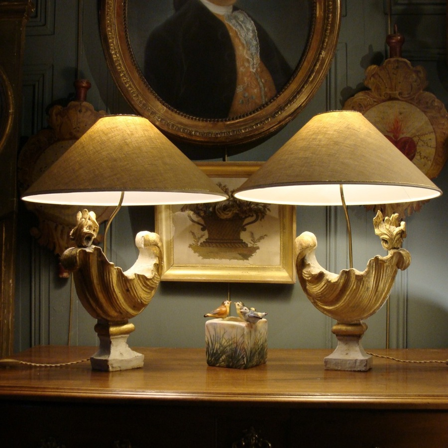 Pair Of 18th Lamps