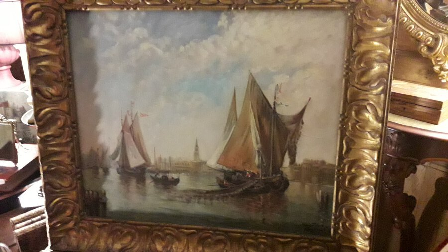 20th CENTURY PAINTING OF VENICE