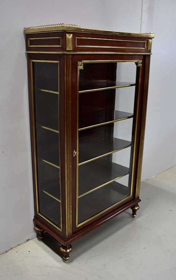 Antique LOUIS XVI STYLE DISPLAY CABINET