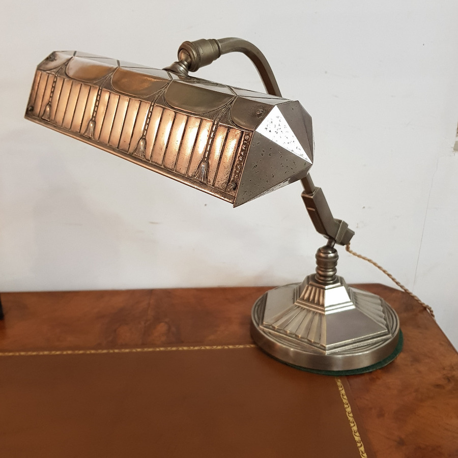 ART DECO PERIOD PIANO LAMP