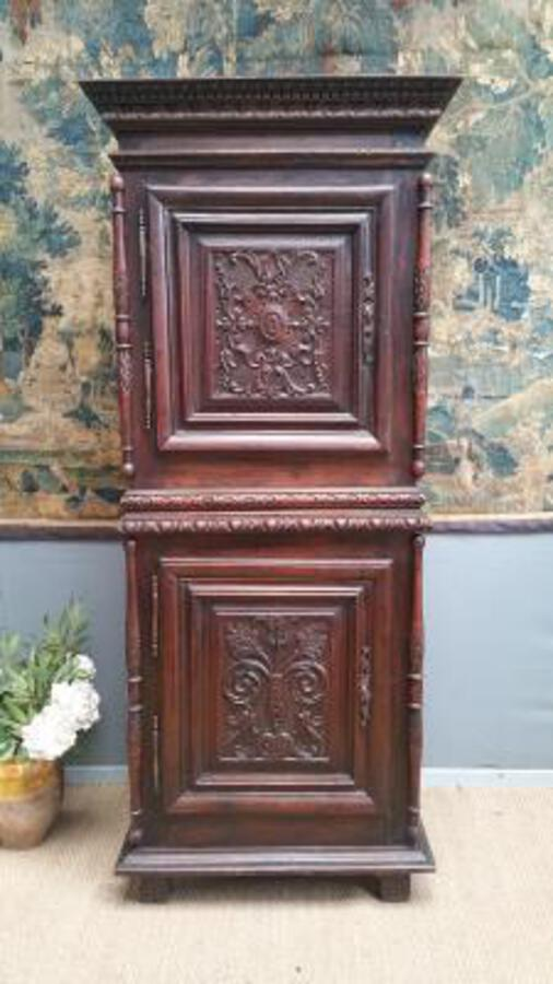 18 C;th  oak wood Cabinet