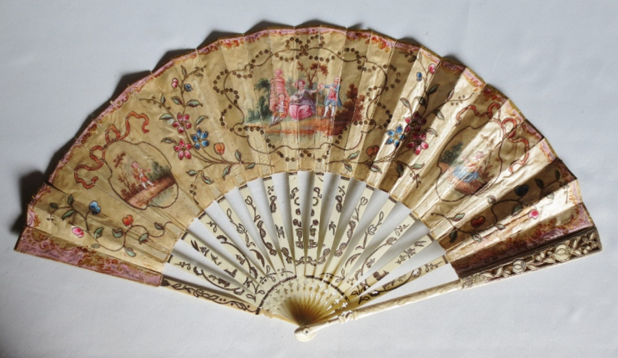 Antique 18th CENTURY FAN
