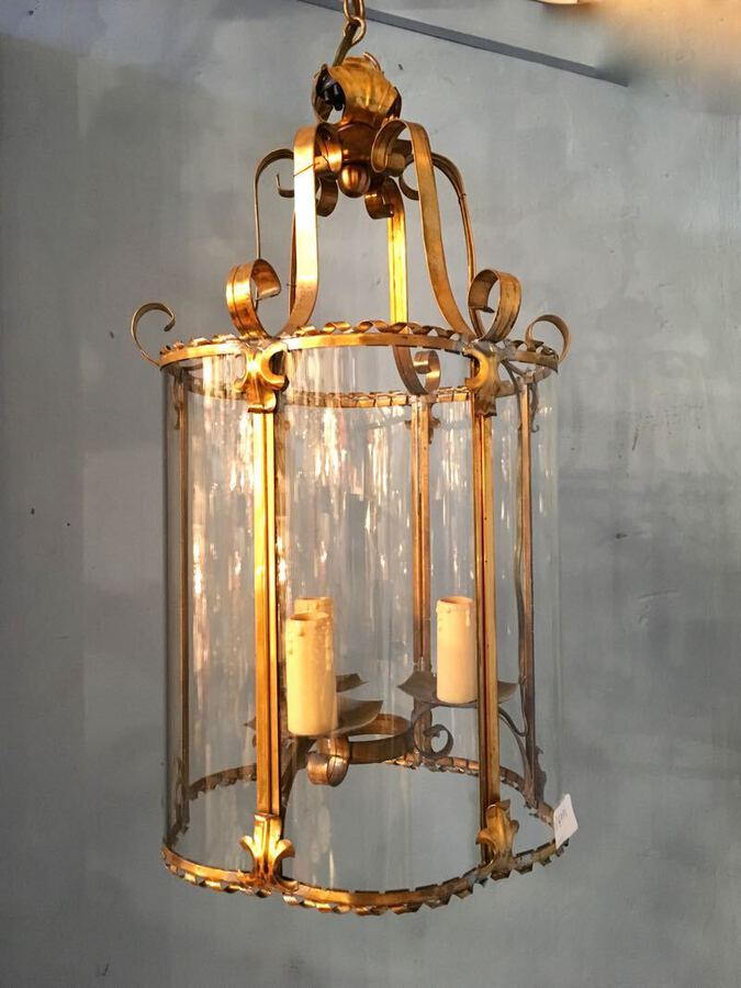 Antique 1950s LANTERN