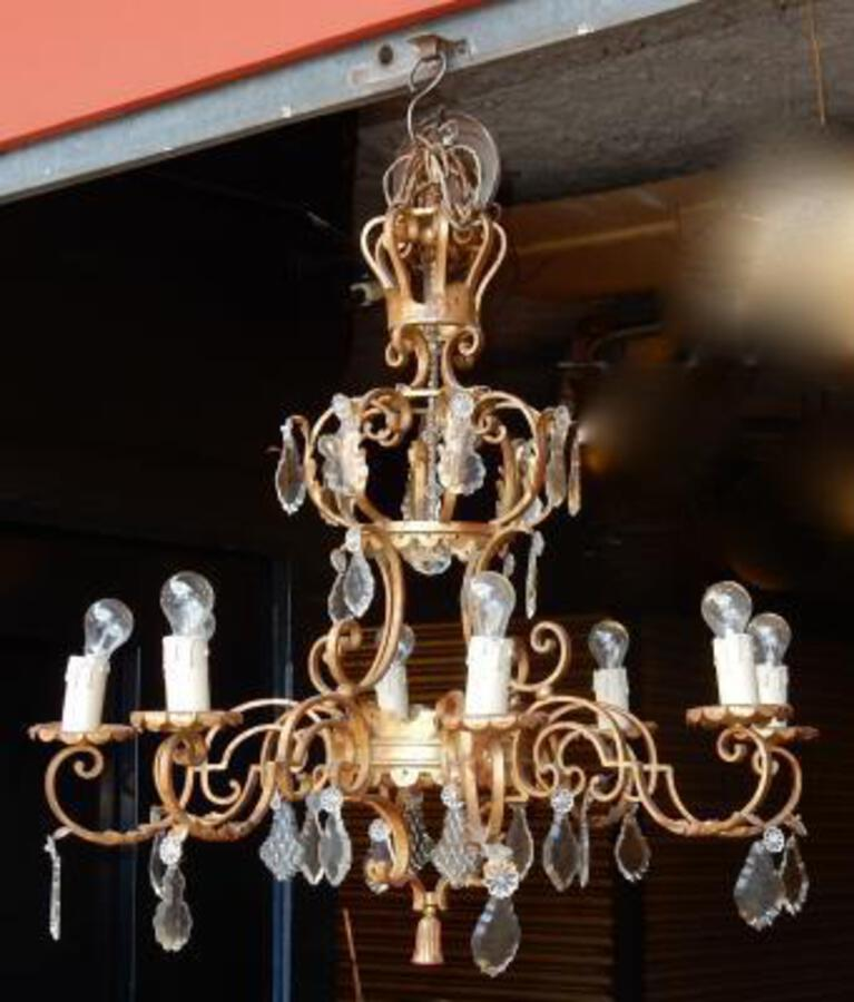 1950' Lustre Medieval in the Style of Maison Jansen