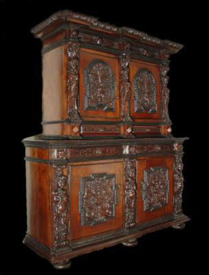 17th Renaissance  French  Cabinet