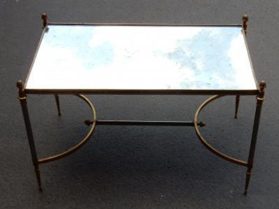 1950/70' Coffee Table Maison Jansen 80 x 49 cm