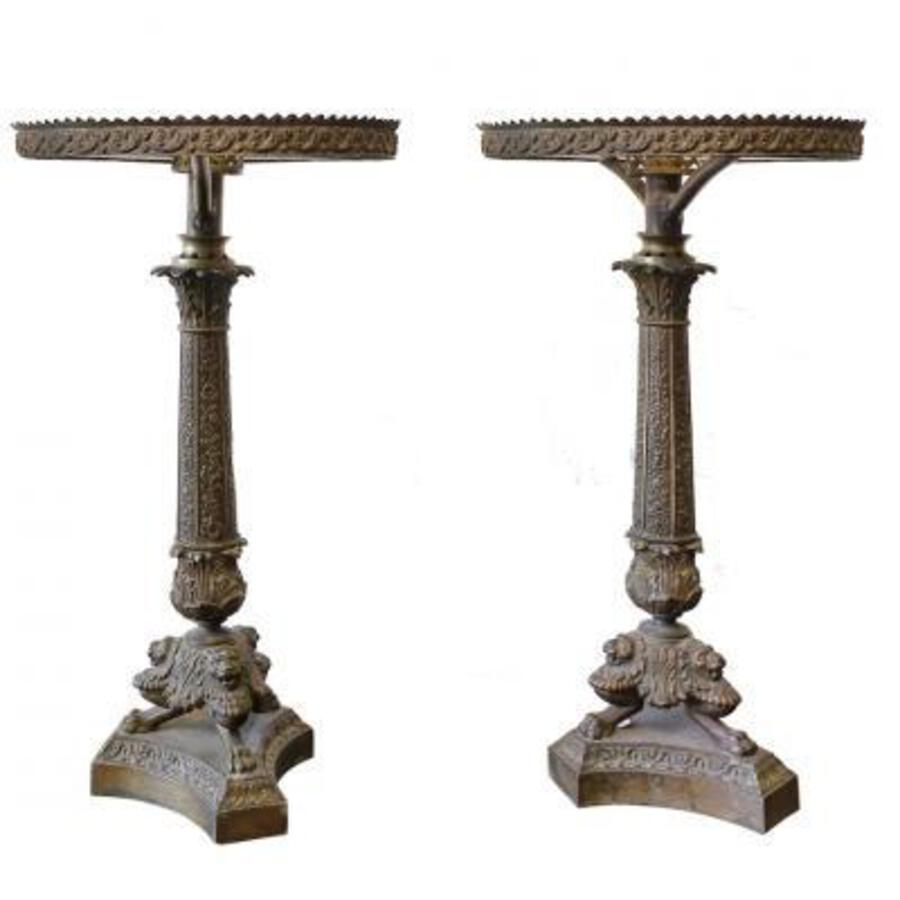 A Pair of Lamp Bases 1880