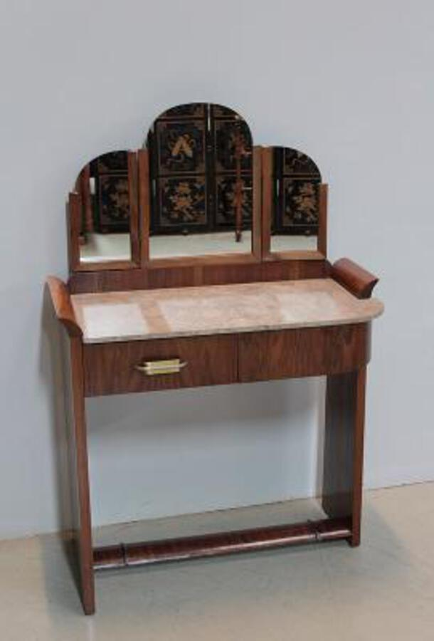 ART DECO PERIOD DRESSING TABLE