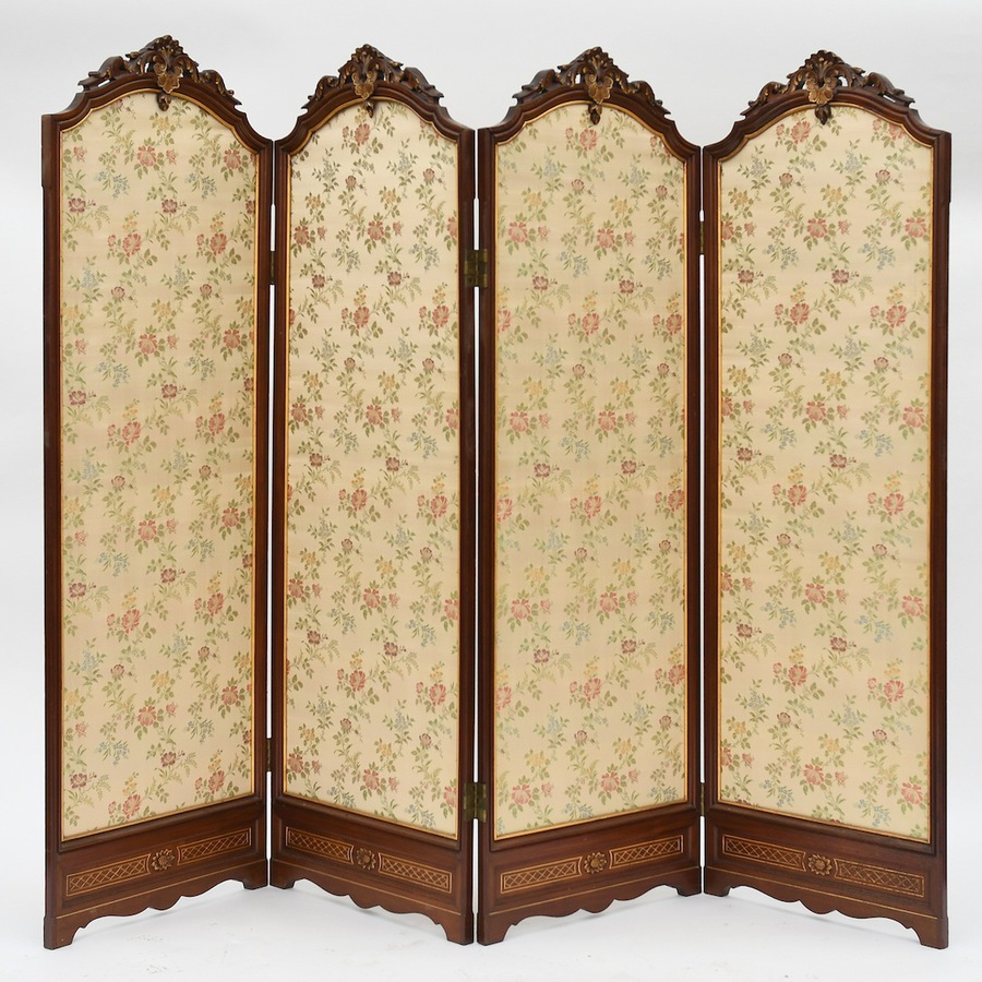 Antique LOUIS XV STYLE SCREEN