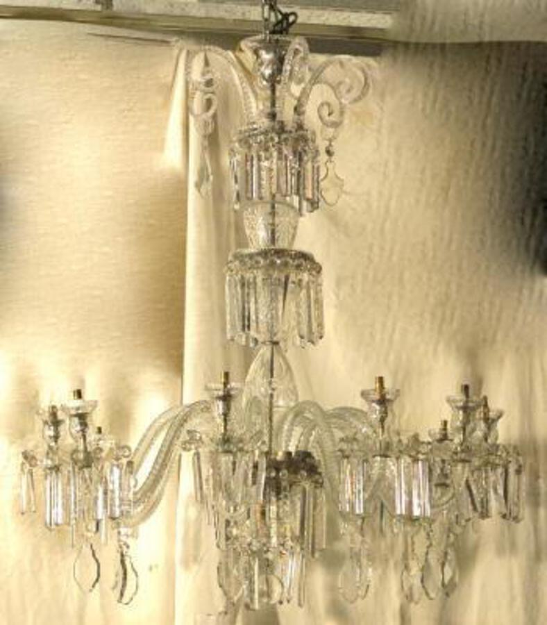 Bohéme cristal Chandelier with 10 arms of light