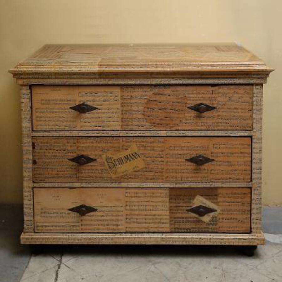 19th C FRENCH CHEST OF DRAWERS