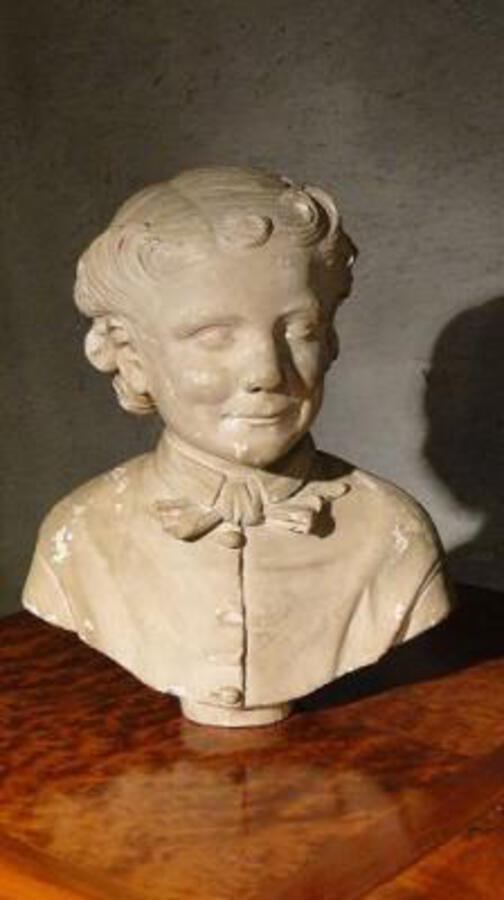 18th C PLASTER BUST