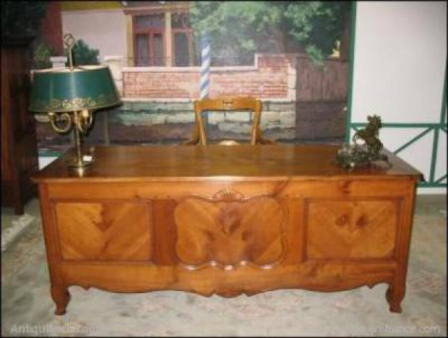 LOUIS XV STYLE CHEST- DESK