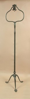 Antique An original Tiffany studios stamped floor standing lamp. Number:423 circa 1920