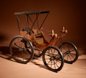 Model car After The American Model of Duryea Automobile 1893-94