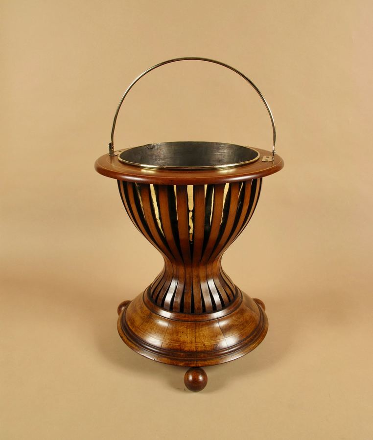 A Dutch Very Decorative and Useful Mahogany and Brass Jardinière. Circa 1850-1870. A Dutch Very Decorative and Useful Mahogany and Brass Jardinière. Circa 1850-1870.