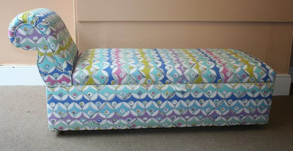 Antique Early 20th Century Ottoman/Daybed