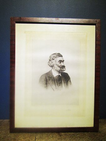 Antique Ernst Abbe Framed Print