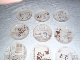 Antique 11 PLATES
