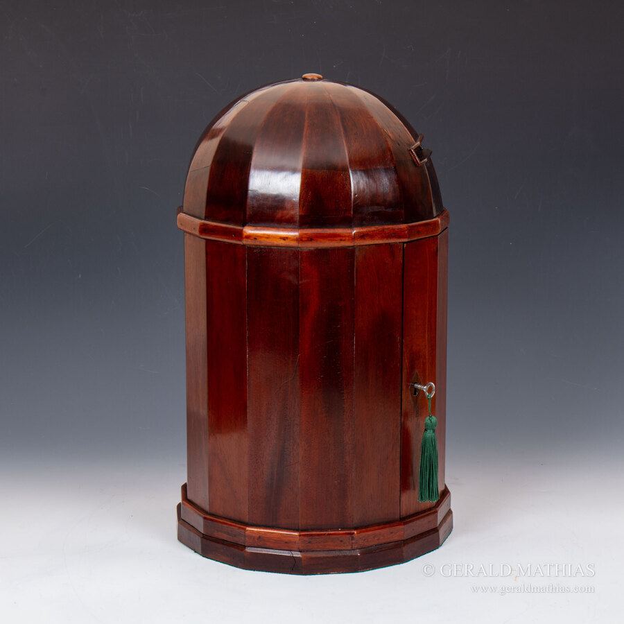 Antique #10053. An Early 20th Century Country House Post Letter Box in the Form of an Ionic Temple