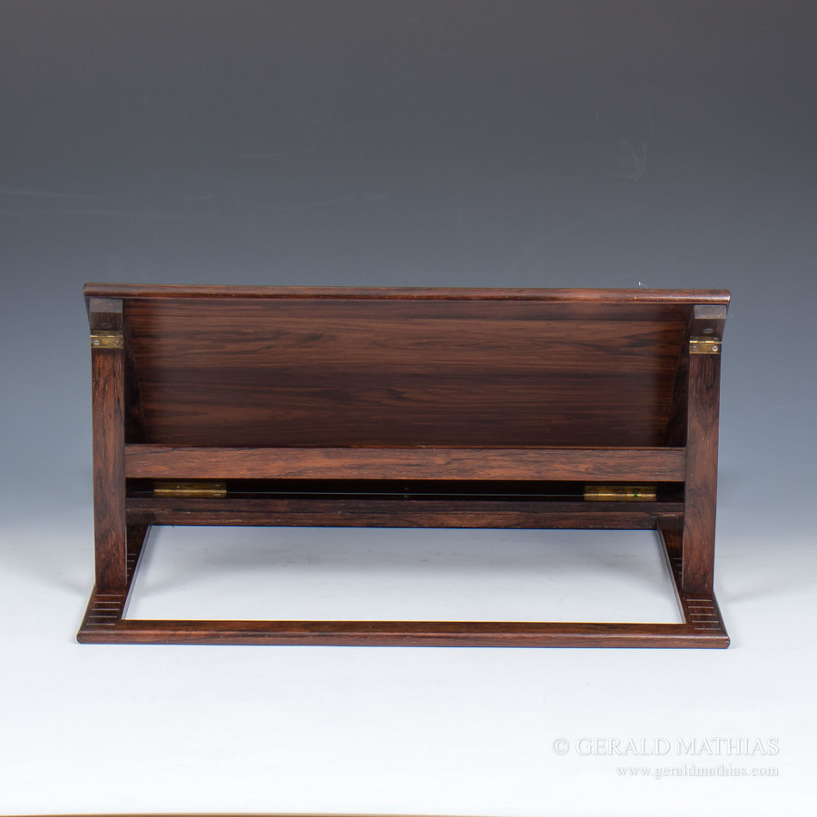 Antique #9906 A Large Early 19th Century Rosewood Book Rest, Reading Stand.