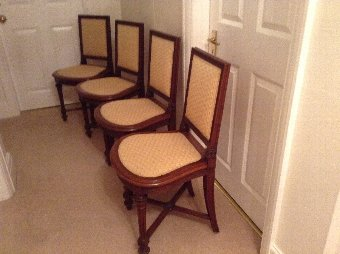 Antique Four Chairs