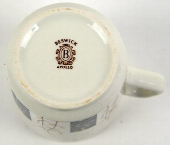 Antique A Beswick 'Apollo' pattern part coffee service. (qty)