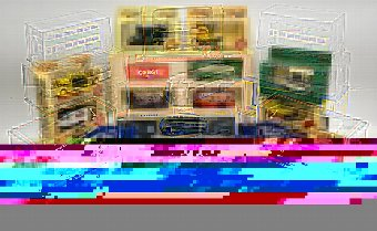 Antique Collection of modern model buses, (all boxed), Lledo models, and others,