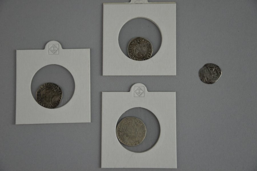 Elizabeth I hammered silver 3 pence and other hammered silver coins