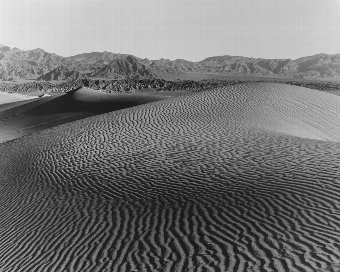 Antique Christopher Cheetham (b.1951)  Sand Dunes Death Valley, USA, 1991