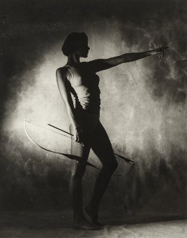 Antique Horst P. Horst (1906-1999) Lingerie (Bow & Arrow), 1982