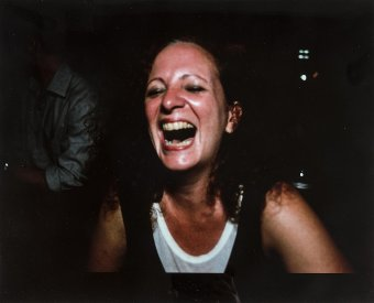 Antique Nan Goldin (b.1953) Self Portrait Laughing, Paris, 1999