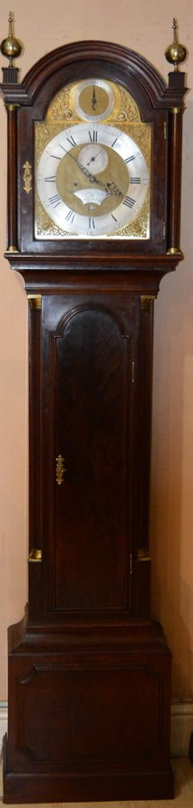 Georgian Portsmouth Longcase Clock