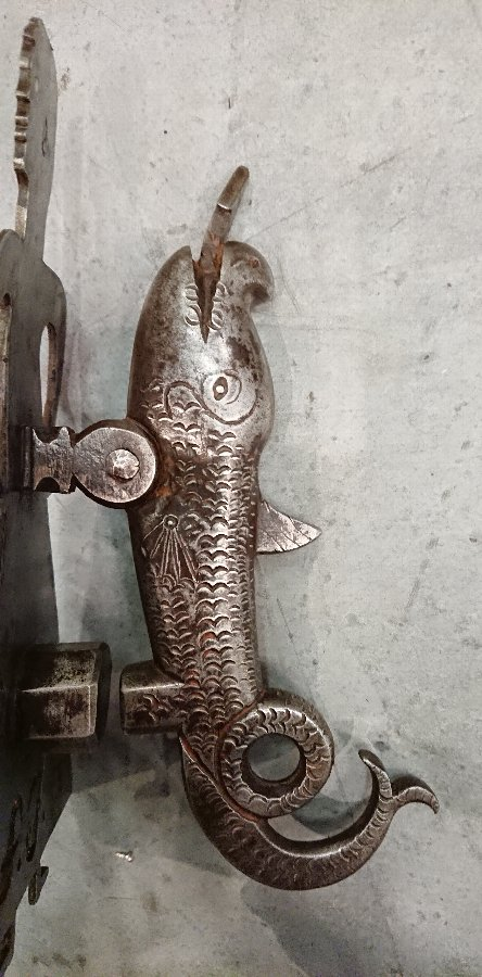 Stunning gothic door knocker