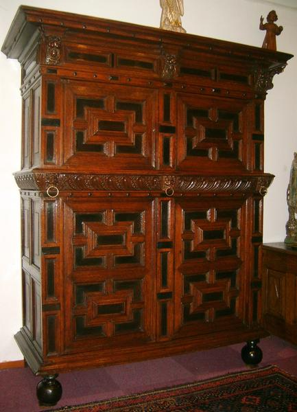 Antique Zealand cupboard