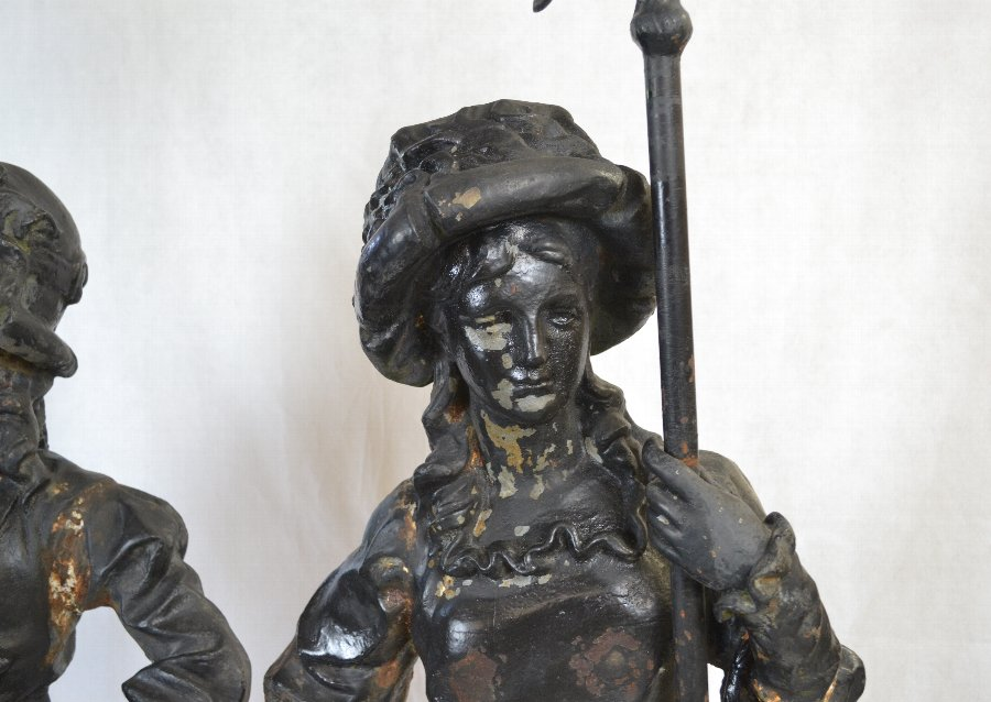 Cast Iron statues