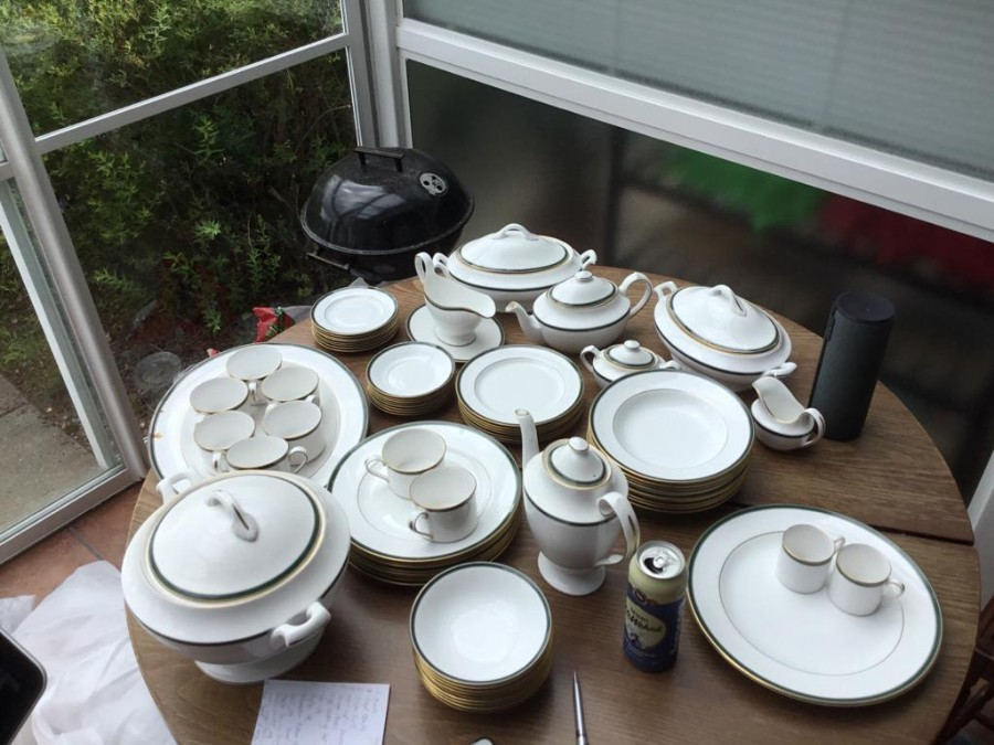 Full Set of Spode Tuscany China