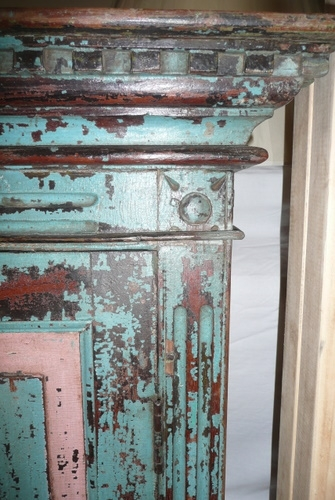 Antique DECORATIVE PAINTED DOORS C.1900