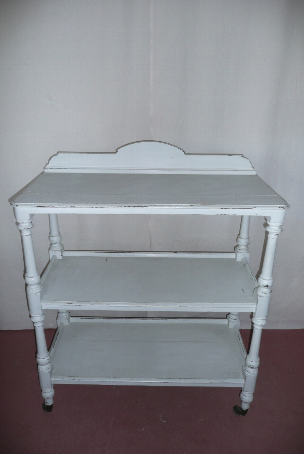 PAINTED BUFFET C.1900