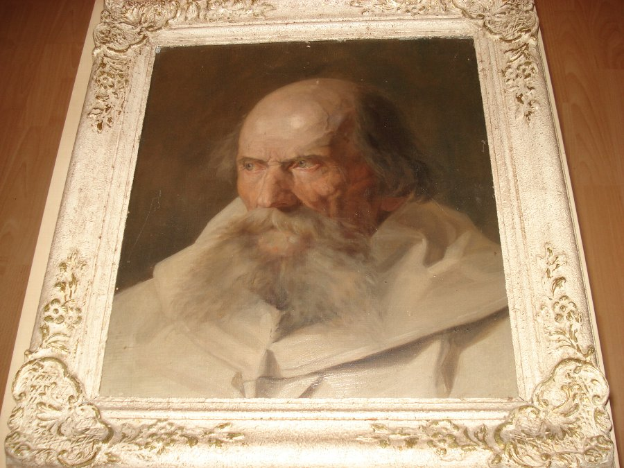 Old Master Portrait 17th Century in Original Frame with History