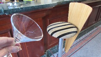 Antique 70's style hi-bar stools CODE ST014