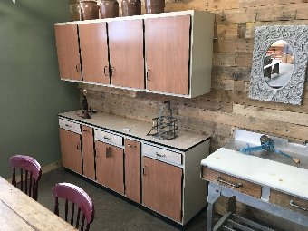 French 1950's kitchen cabinets