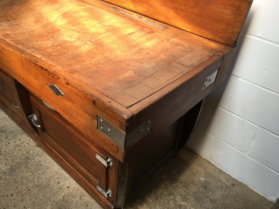 Antique Butchers Block French