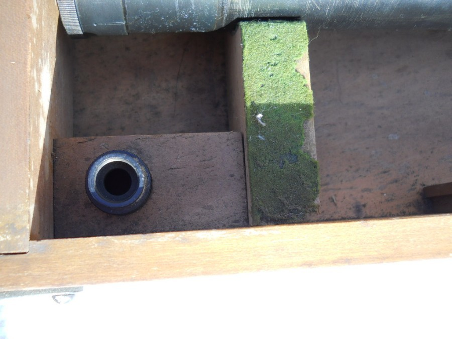Antique WW1 ROYAL NAVY OTTWAY VP 5-15 TELESCOPE FOR HIGH ANGLE GUN