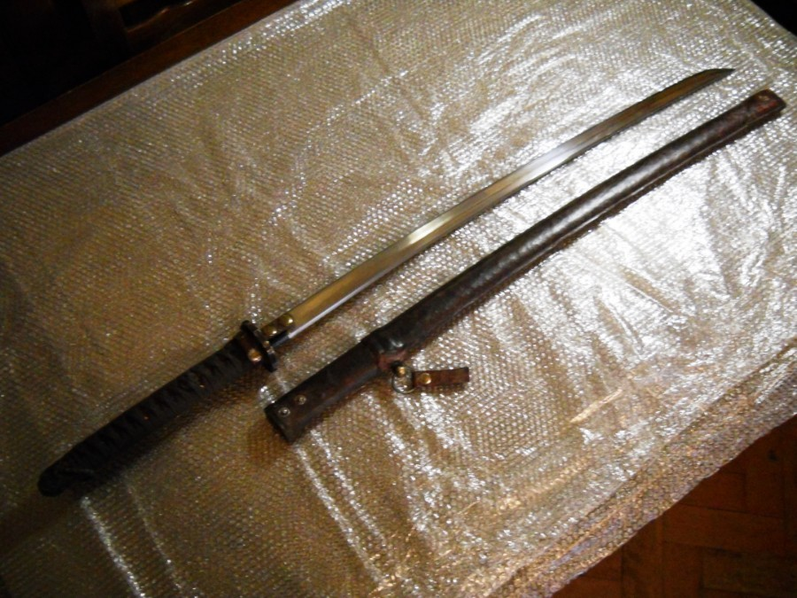 GOOD QUALITY WW2 JAPANESE KATANA / CHINESE PRISON SWORD REPLICA