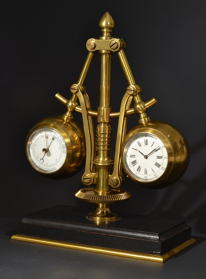 19thc French Steam Clock