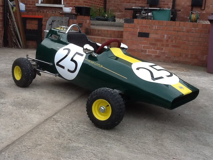 Lotus 25 Coventry climax go cart ultimate kids racing car