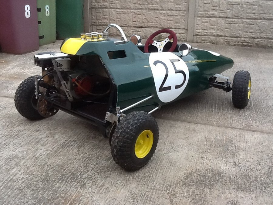 Antique Lotus 25 Coventry climax go cart ultimate kids racing car