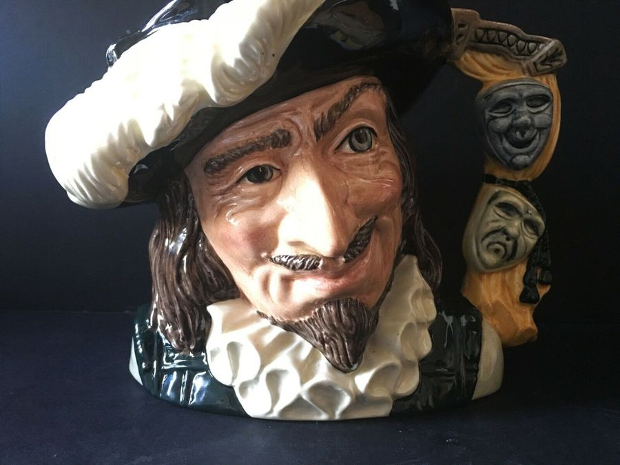 Antique Royal Doulton Character Jugs.